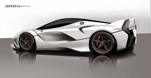 ferrari laferrari sketch axis of oversteer ferrari fxx k designing the ultimate track toy
