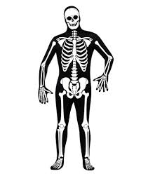 Halloween Skeleton Bodysuit Skeleton Skin Suit As A Skeleton Full Body Suit For Halloween