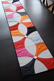 Designs For Runners Modern Petals Table Runner Pattern Regarding Runners Design