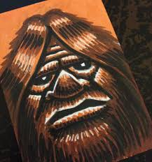 bigfoot sketch cards coghill cartooning cartooning