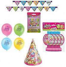 shopkins 168pcs ultimate birthday of 8 guest supplies