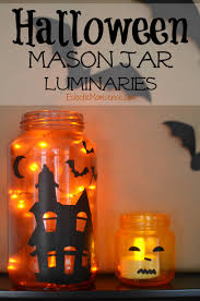 Craft Halloween by Halloween Mason Jar Luminaries Eclectic Momsense