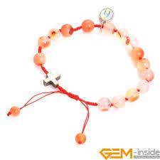 beads with cross bracelet images 8mm stone beads adjustable cross bracelet muslim catholic jpg
