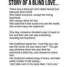 Love Makes You Blind Quotes Short True Sad Love Stories That Will Make You Cry Ordinary Quotes