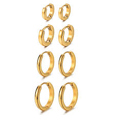 earrings for thick earlobes best in men s earrings helpful customer reviews