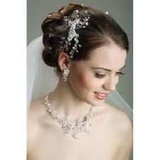 Hochsteckfrisurenen Hochzeit Mit Perlen by Haarschmuck Hochzeit Haarschmuck Haarschmuck