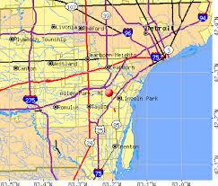 map of allen allen park michigan mi profile population maps real estate