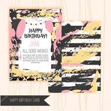 happy birthday artistic creative cards crafted textures can