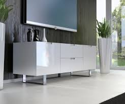 contemporary tv stand in wenge walnut or white lacquer san diego
