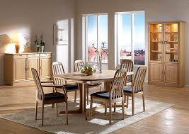 dining room cool scandinavian dining room design with rectangle