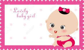 baby girl birthday illustrtion of baby girl card birthday card royalty free cliparts