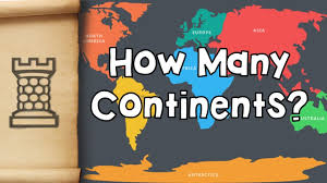 Do Continents Have Flags How Many Continents Are There In The World Youtube