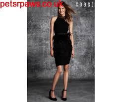 women u0027s clothing coast rosabella black feather dress 701 056