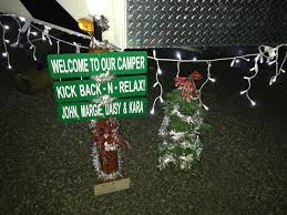 christmas in july rv site decorations we had great entries in the