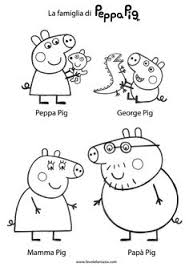 peppa pig coloring pages a4 peppa pig coloring pages drawing picture 31 pinteres