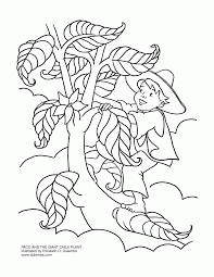 jack and the beanstalk coloring pages free colouring pages 1005