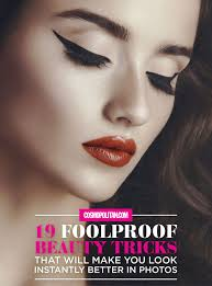19 foolproof beauty tricks that will make you look instantly better in photos 3 fast makeup