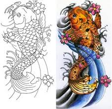 koi fish tattoo drawings pictures tattoomagz