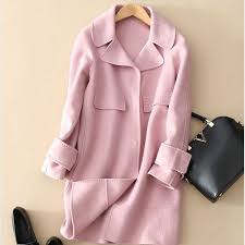 light pink wool coat pink wool coat sale fashion women s coat 2017