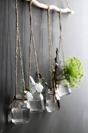 Hanging Glass Wall Vase Best 25 Hanging Jars Ideas On Pinterest Jars How To Macrame
