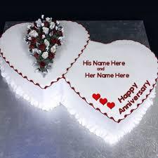 anniversary cake anniversary cake with name
