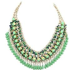 green fashion necklace images Womens exotic fashion necklace bestbauble jpg