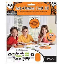 jack o lantern halloween kids activity pumpkin faces decorating