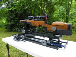 Bench Rest Shooting Rest Rifle Vise For Sighting It In