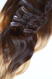 ombre clip in hair extensions 20 inches 200 gram set of warm ombre 100 remy