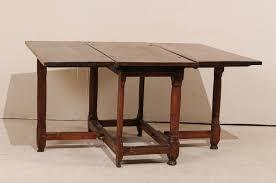 a period baroque gate leg table 950 a tyner antiques