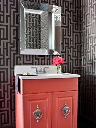 modern transitional bathroom wallpaper ideas for small bathroom
