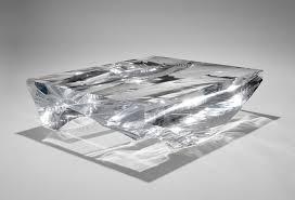 Crystal Coffee Table by Fs Coffee Table U0027gravity U0027 U2014 David Gill Gallery