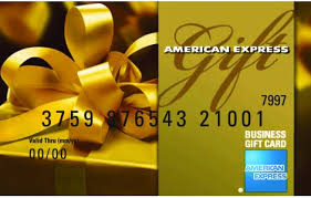 gift cards for business american express business
