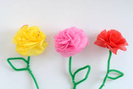 tissue paper flowers diy tissue paper flowers
