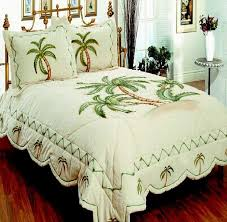 palm themed bedding beautiful tropical palm tree bedding to make