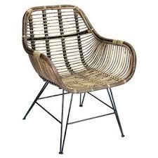 Single Bistro Chair Single Chair Rattan Cirebon