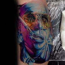 53 most wonderful trippy tattoos designs with artistic touch