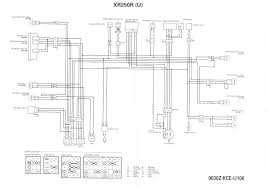 honda xr250r wiring diagram honda wiring diagrams instruction