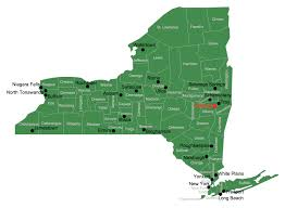 County Map Of New York State by Where Is New York Location Of New York In Us Map Newyorkonmapofus