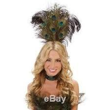 Las Vegas Showgirl Halloween Costume Peacock Costume Women Halloween Las Vegas Showgirl
