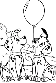101 dalmatians coloring pages 784