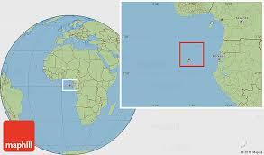 map of sao tome political location map of sao tome and principe savanna style outside