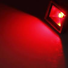 red led flood light 10w rgb 900lm color changing outdoor remote led flood wash light