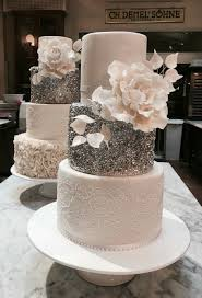 wedding cake with gum paste flower theresa mühlegger demel