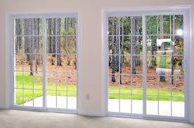 Metal Glass Door by Sliding Glass Doors U0026 Patio Doors Upstate Ny Comfort Windows