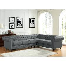 Tufted Sectional Sofa Chaise Tufted Sectional Sofa Tufted Sectional Sofa Line By Gray Tufted