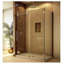 enclose your shower with cool sliding barn door hardware as glass