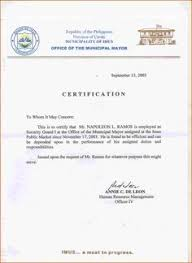 authorization letter sample birth certificate format for