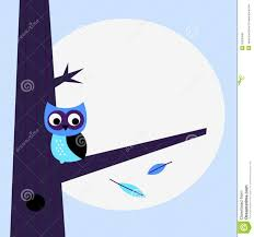 halloween night owl template royalty free stock image image