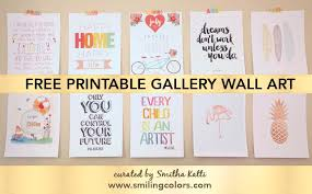 cheap printable wall art printable gallery wall art that will make your room look new